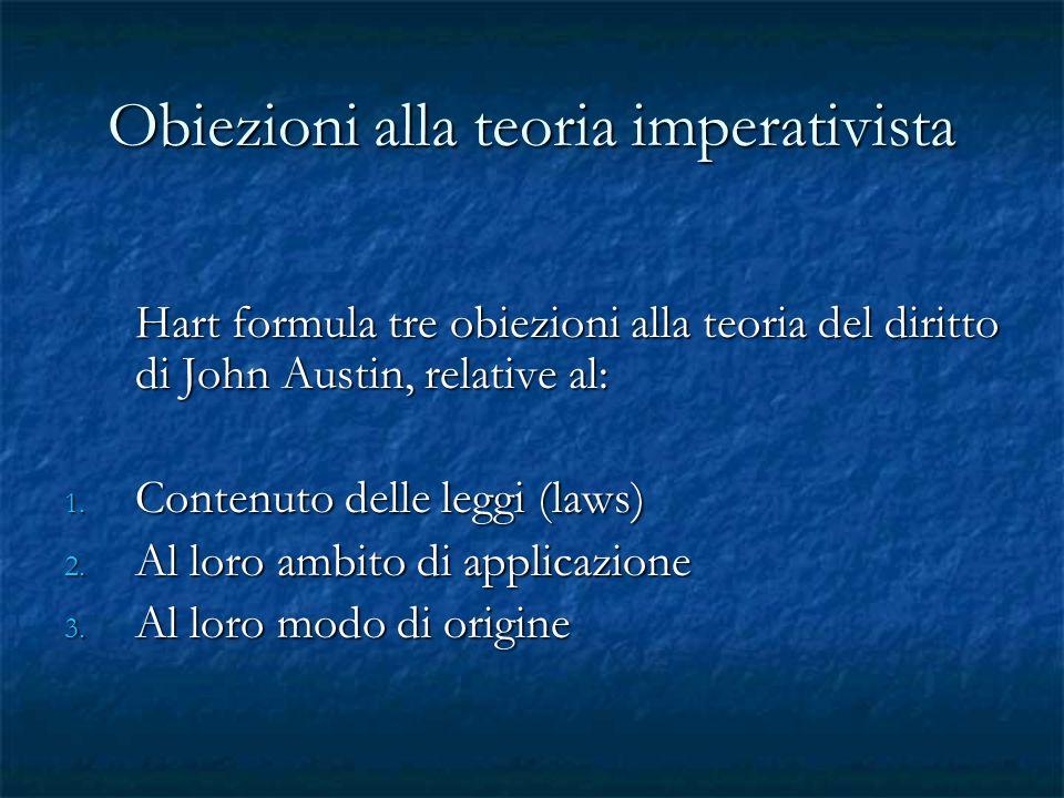 Obiezioni alla teoria imperativista