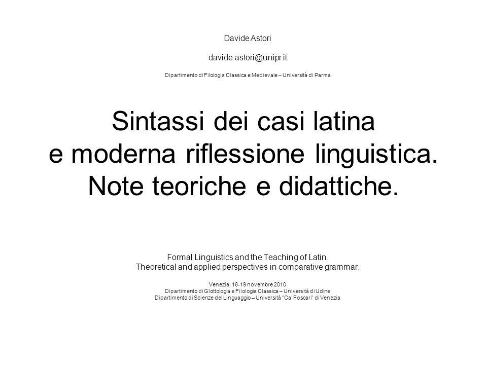 Davide Astori davide.astori@unipr.it. Dipartimento di Filologia Classica e Medievale – Università di Parma.