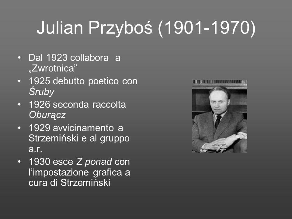 """Julian Przyboś (1901-1970) Dal 1923 collabora a """"Zwrotnica"""