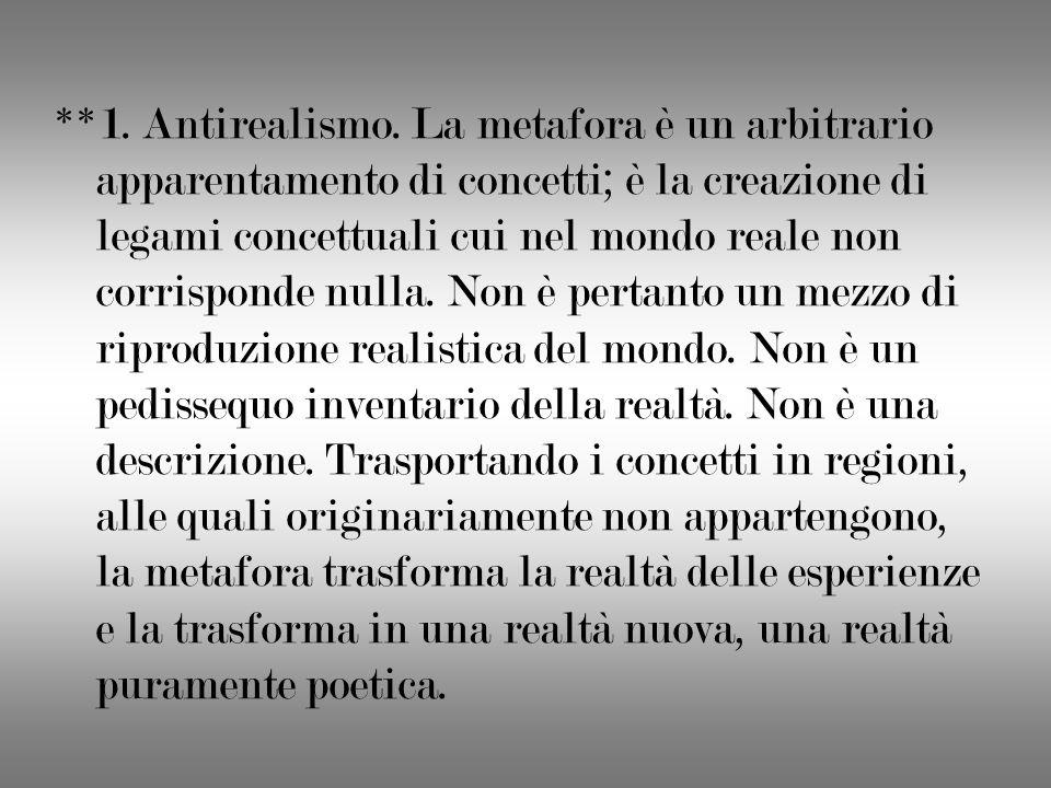 **1. Antirealismo.