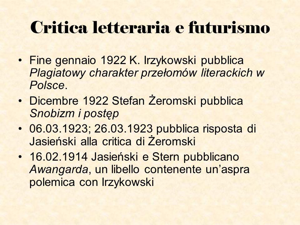 Critica letteraria e futurismo