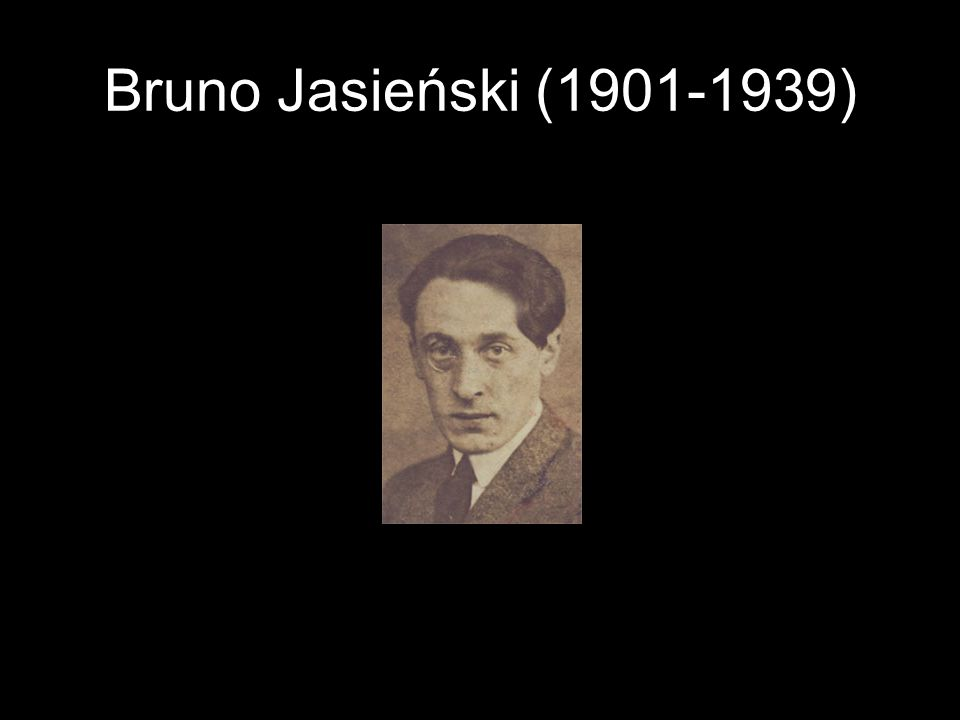 Bruno Jasieński (1901-1939)