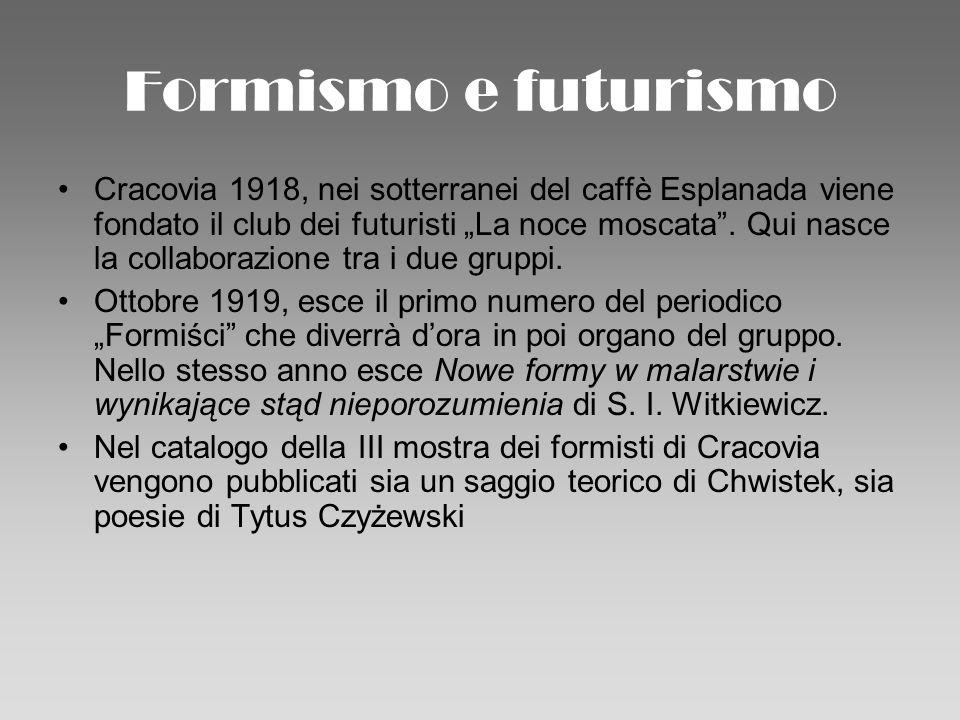 Formismo e futurismo