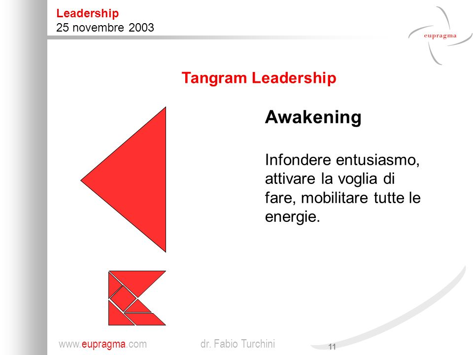 Awakening Tangram Leadership