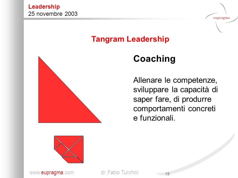 Coaching Tangram Leadership