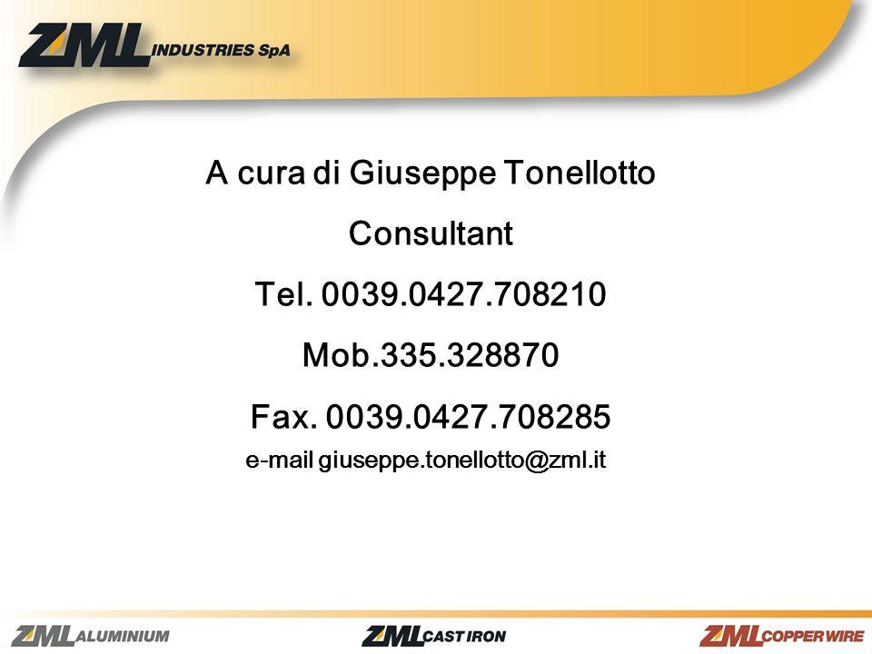 A cura di Giuseppe Tonellotto