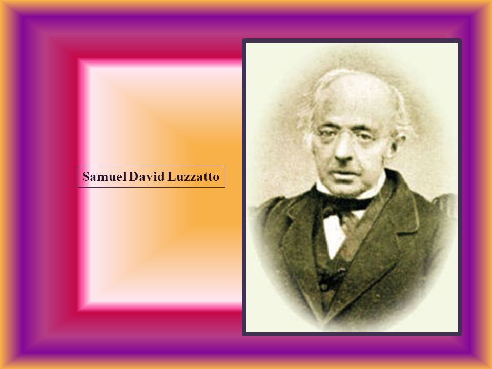Samuel David Luzzatto