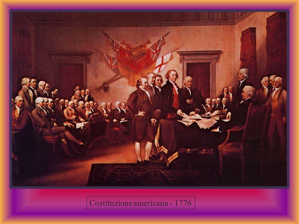 Costituzione americana - 1776