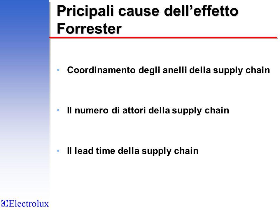 Pricipali cause dell'effetto Forrester