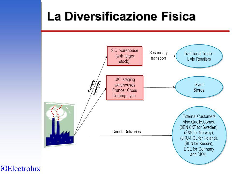 La Diversificazione Fisica