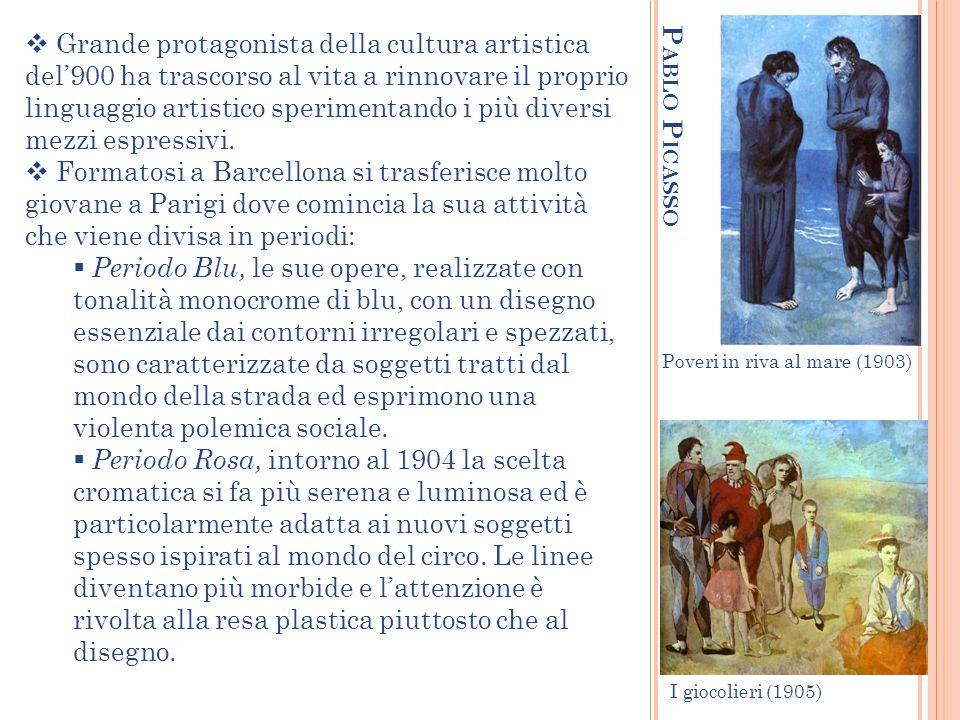 Grande protagonista della cultura artistica del'900 ha trascorso al vita a rinnovare il proprio linguaggio artistico sperimentando i più diversi mezzi espressivi.