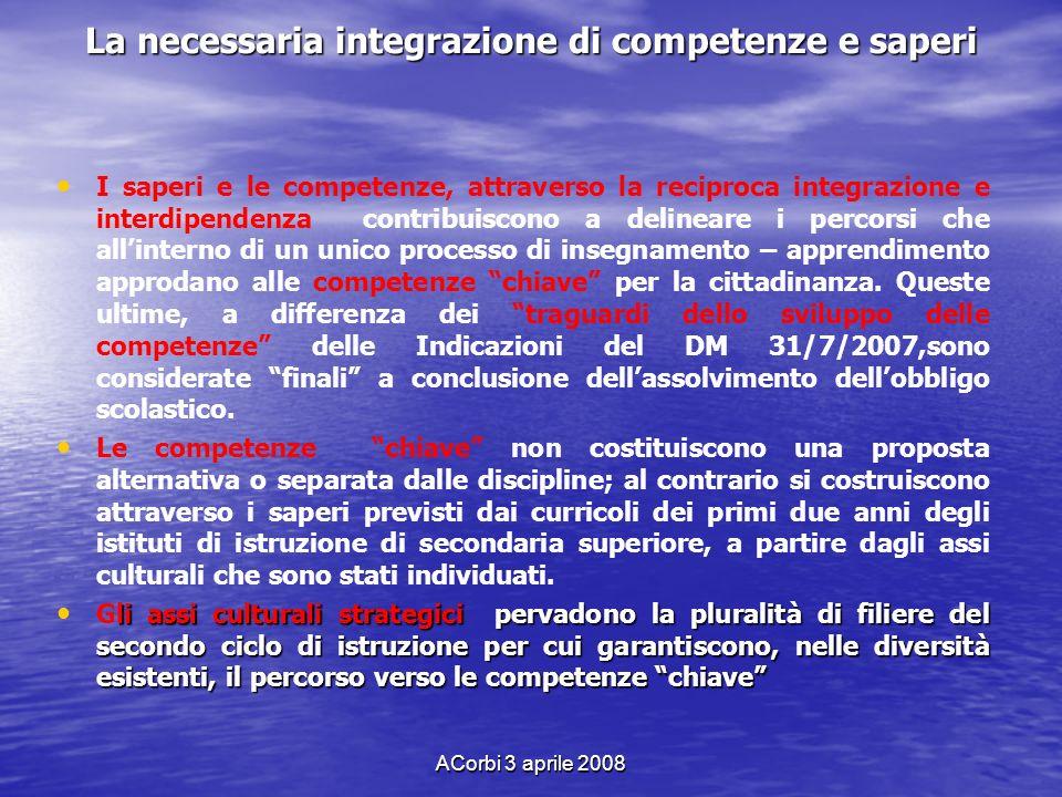 La necessaria integrazione di competenze e saperi