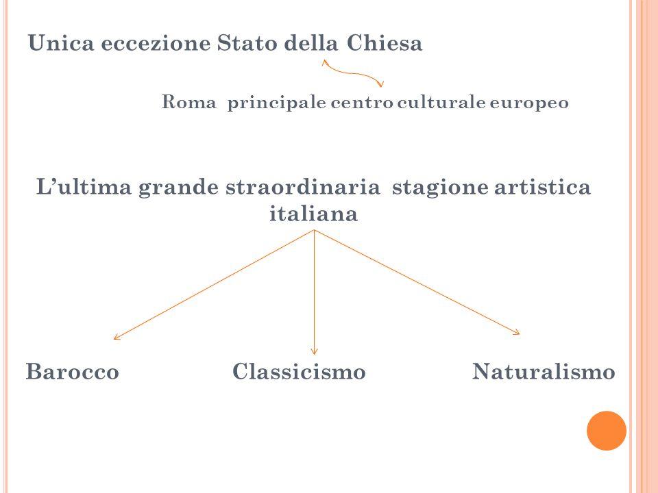 L'ultima grande straordinaria stagione artistica italiana