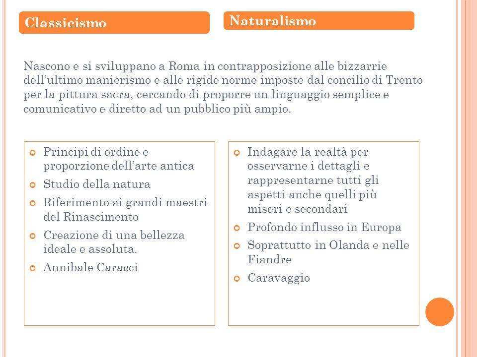 Classicismo Naturalismo