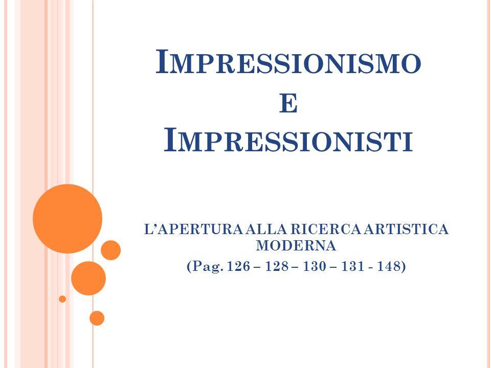 Impressionismo e Impressionisti