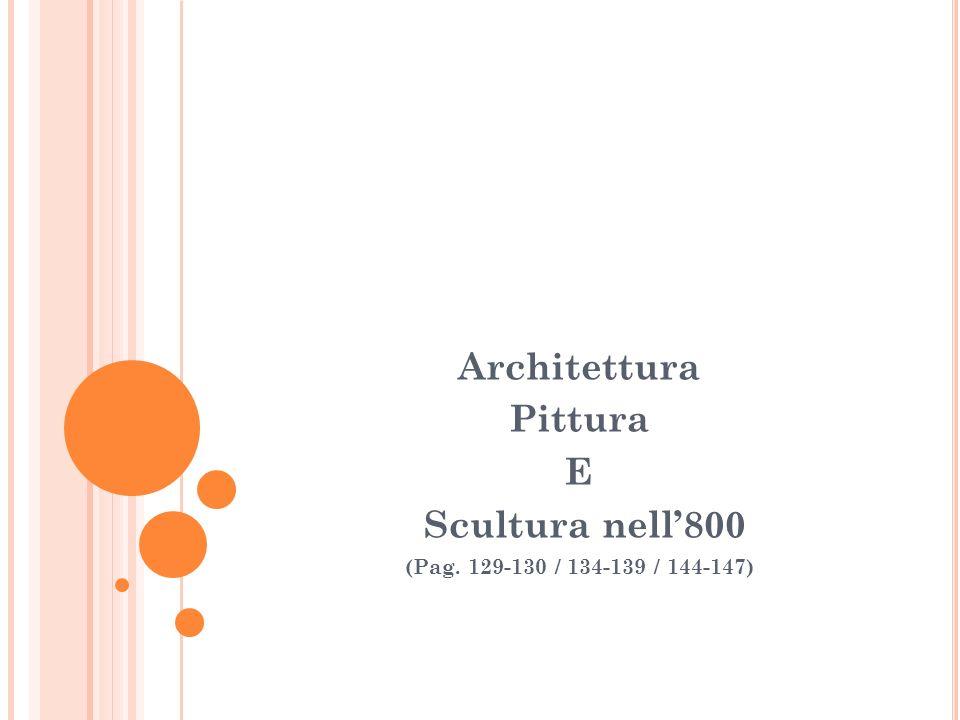 Architettura Pittura E Scultura nell'800