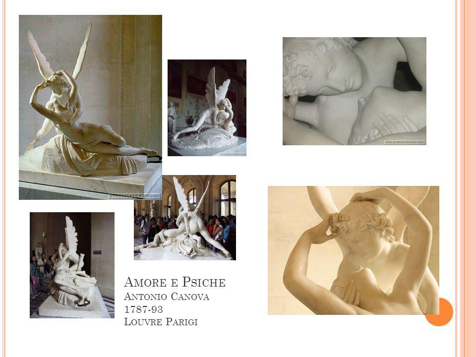 Amore e Psiche Antonio Canova 1787-93 Louvre Parigi