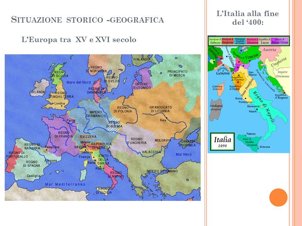 Situazione storico -geografica