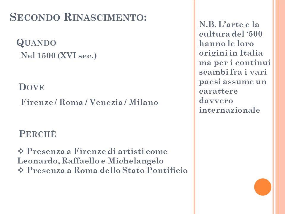 Secondo Rinascimento:
