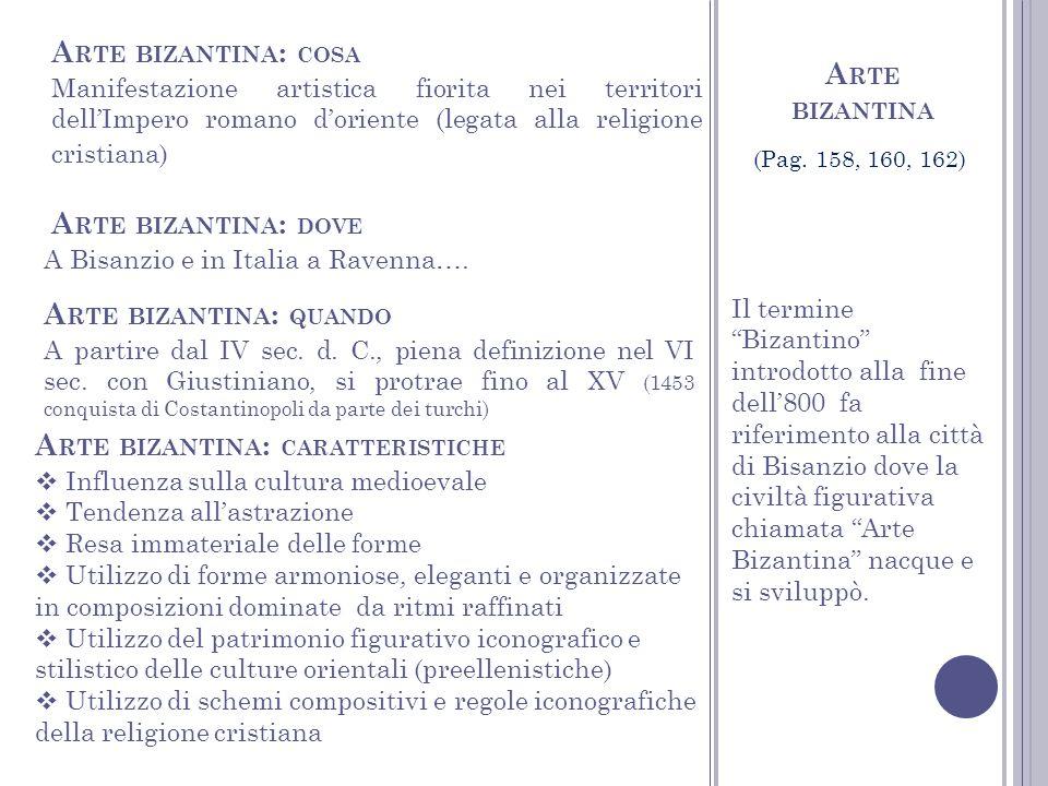 Arte bizantina: quando
