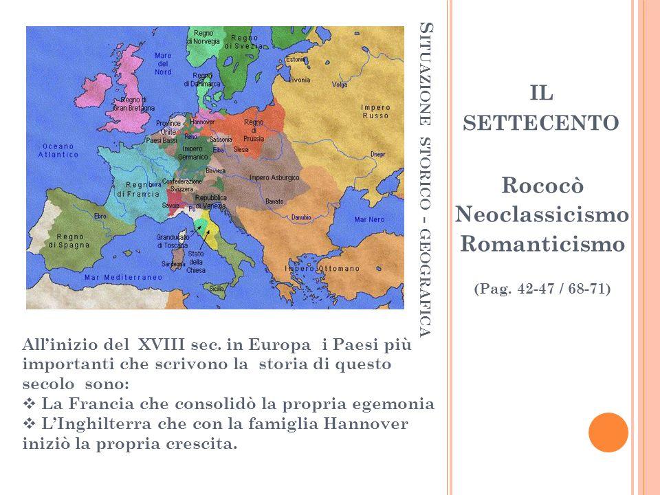 Situazione storico - geografica