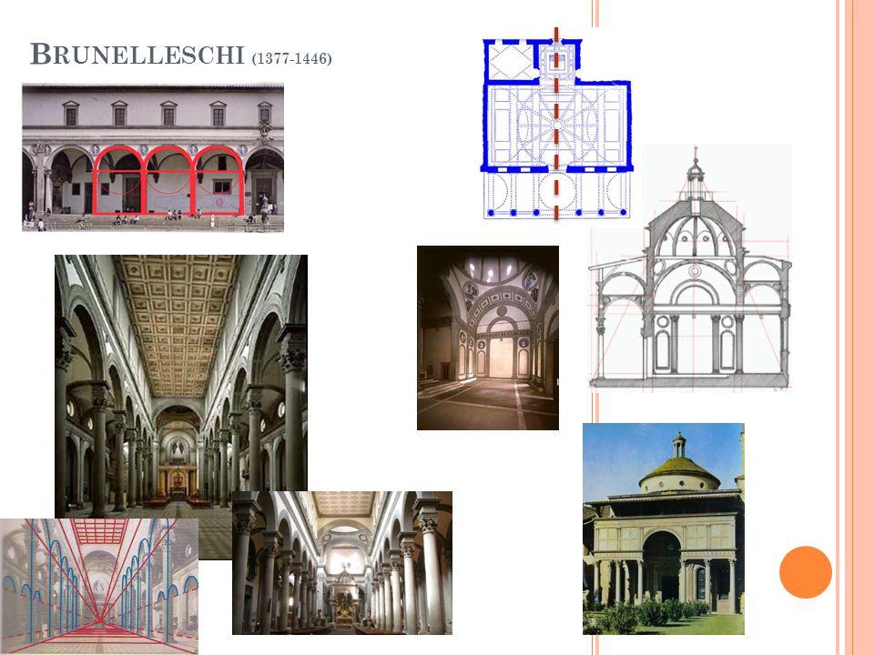 Brunelleschi (1377-1446)