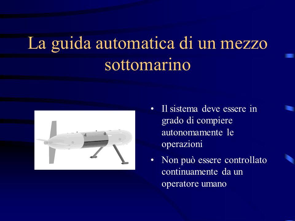 La guida automatica di un mezzo sottomarino
