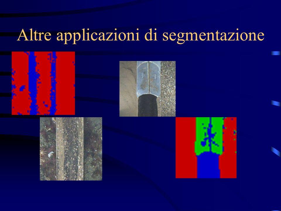 Altre applicazioni di segmentazione