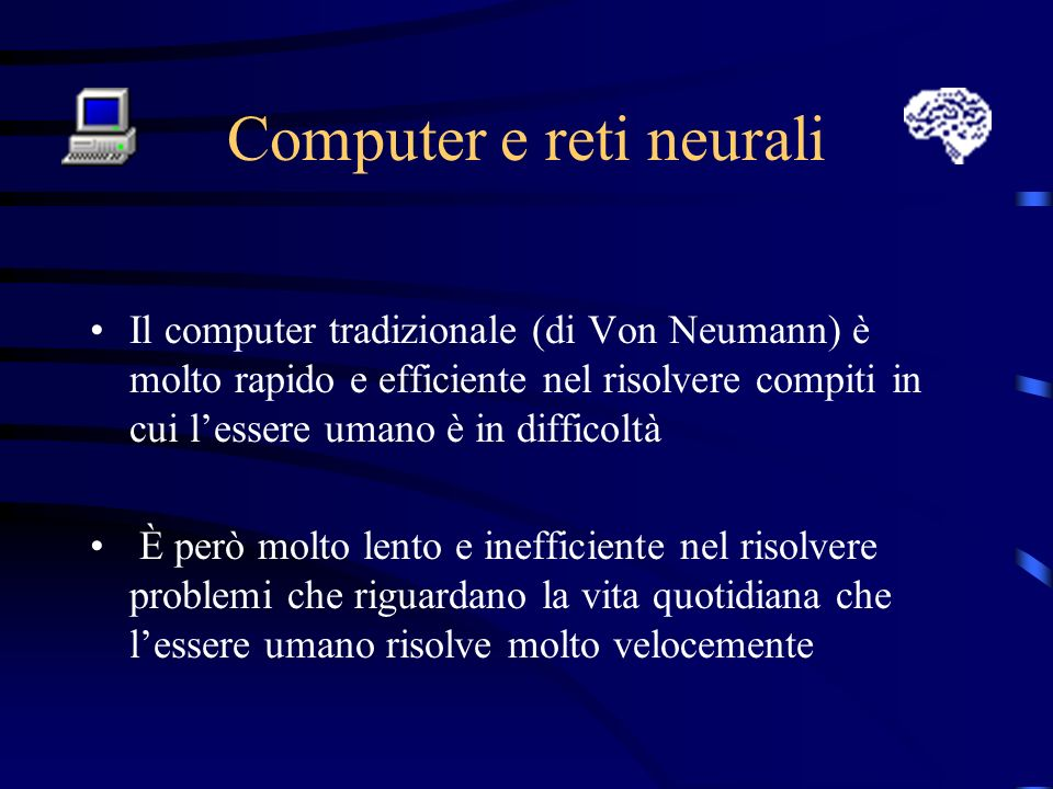 Computer e reti neurali