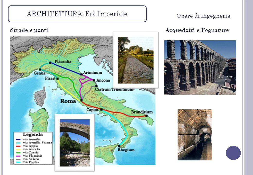 ARCHITETTURA: Età Imperiale