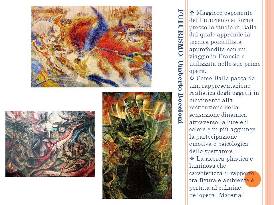 FUTURISMO: Umberto Boccioni