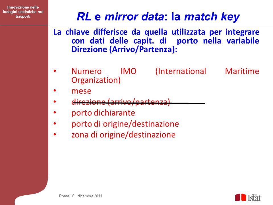 RL e mirror data: la match key