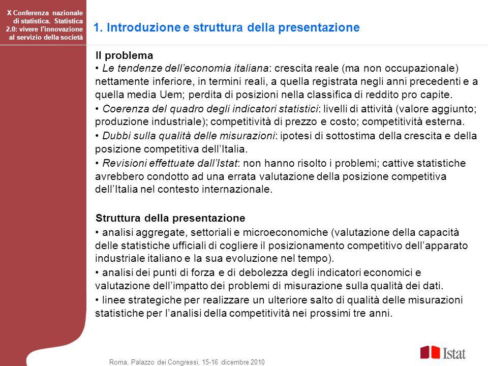 1. Introduzione e struttura della presentazione