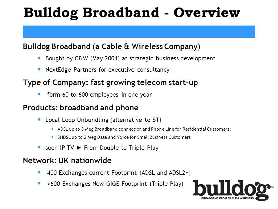 Bulldog Broadband - Overview