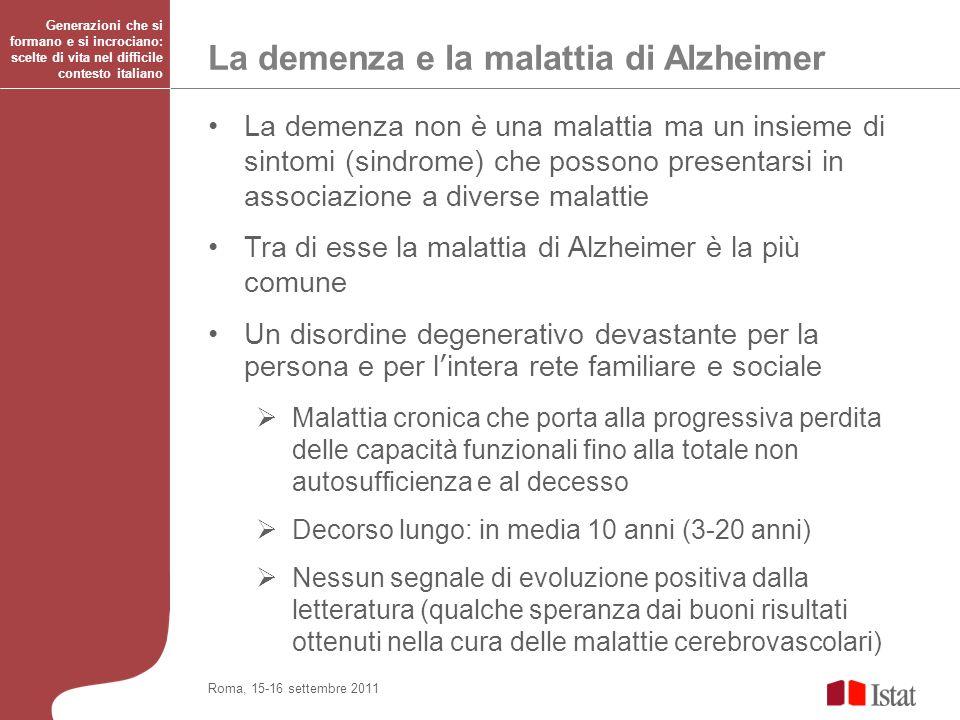 La demenza e la malattia di Alzheimer