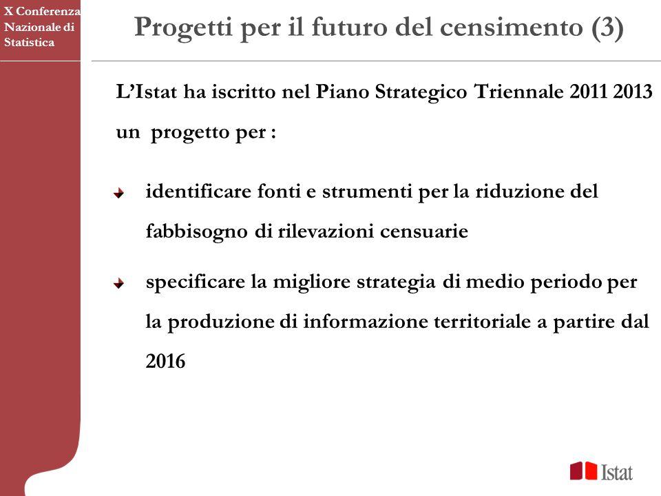 Progetti per il futuro del censimento (3)