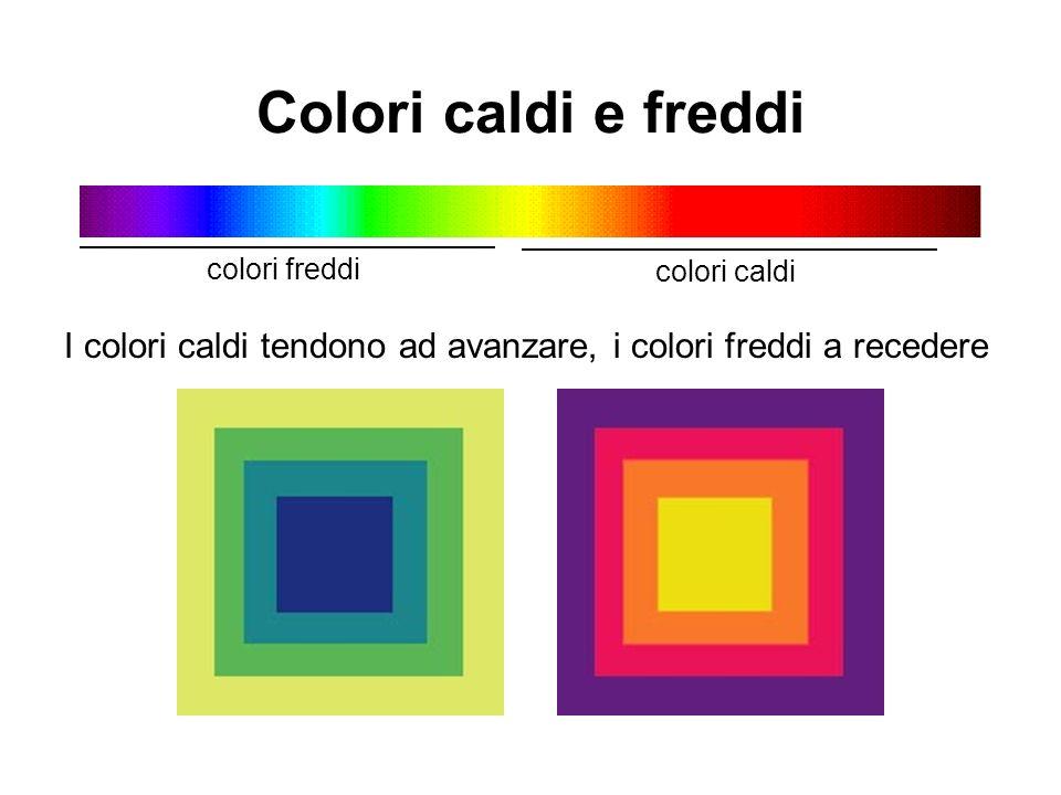 Colori caldi e freddi colori freddi. colori caldi.