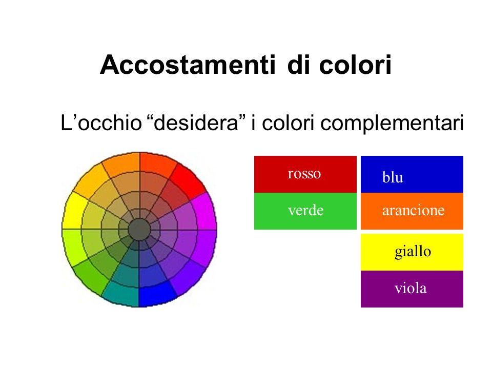 Accostamenti di colori