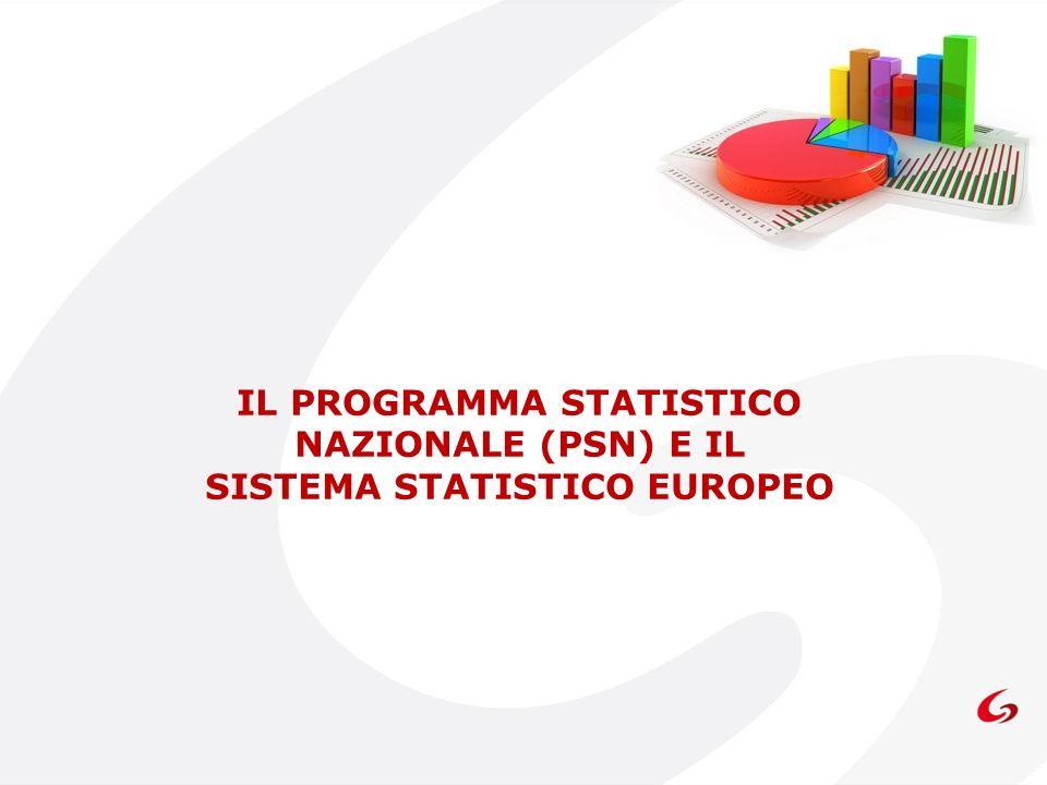 IL PROGRAMMA STATISTICO NAZIONALE (PSN) E IL SISTEMA STATISTICO EUROPEO