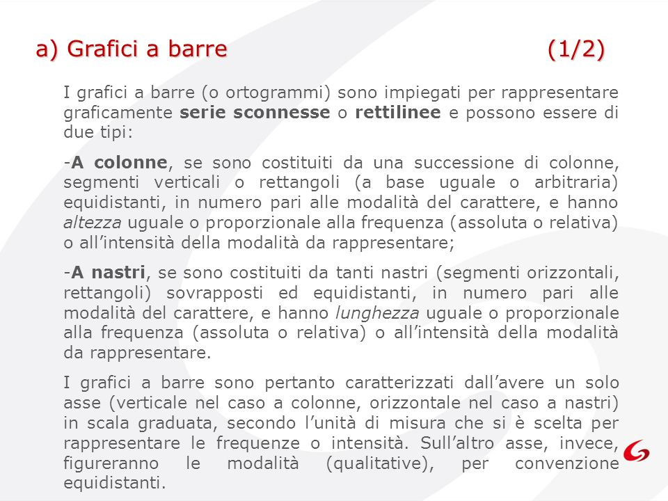 a) Grafici a barre (1/2)