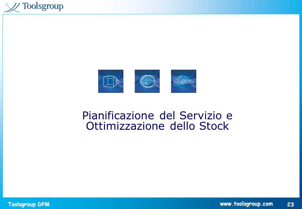 Pianificazione del Servizio e Ottimizzazione dello Stock