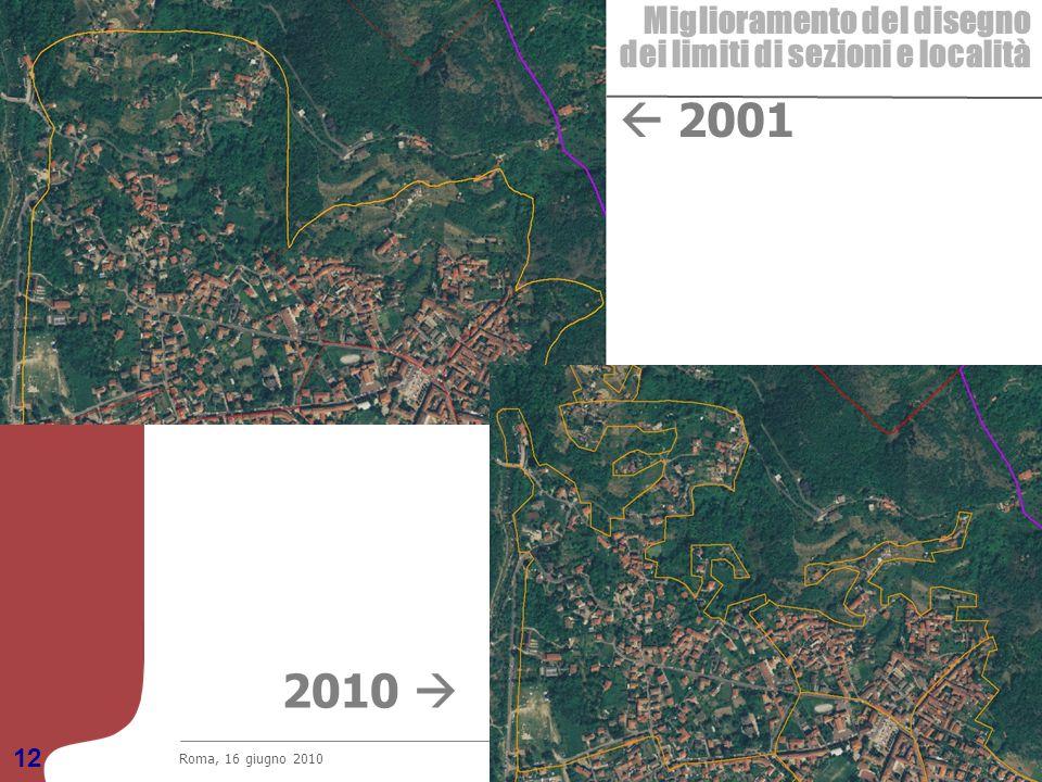  2001 2010  Miglioramento del disegno