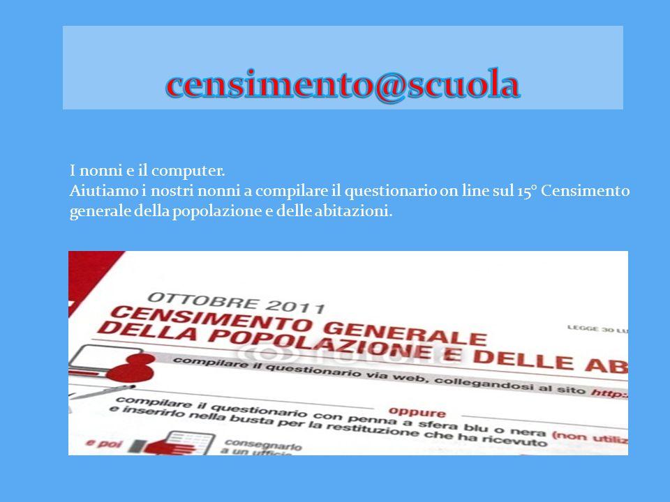 censimento@scuola I nonni e il computer.