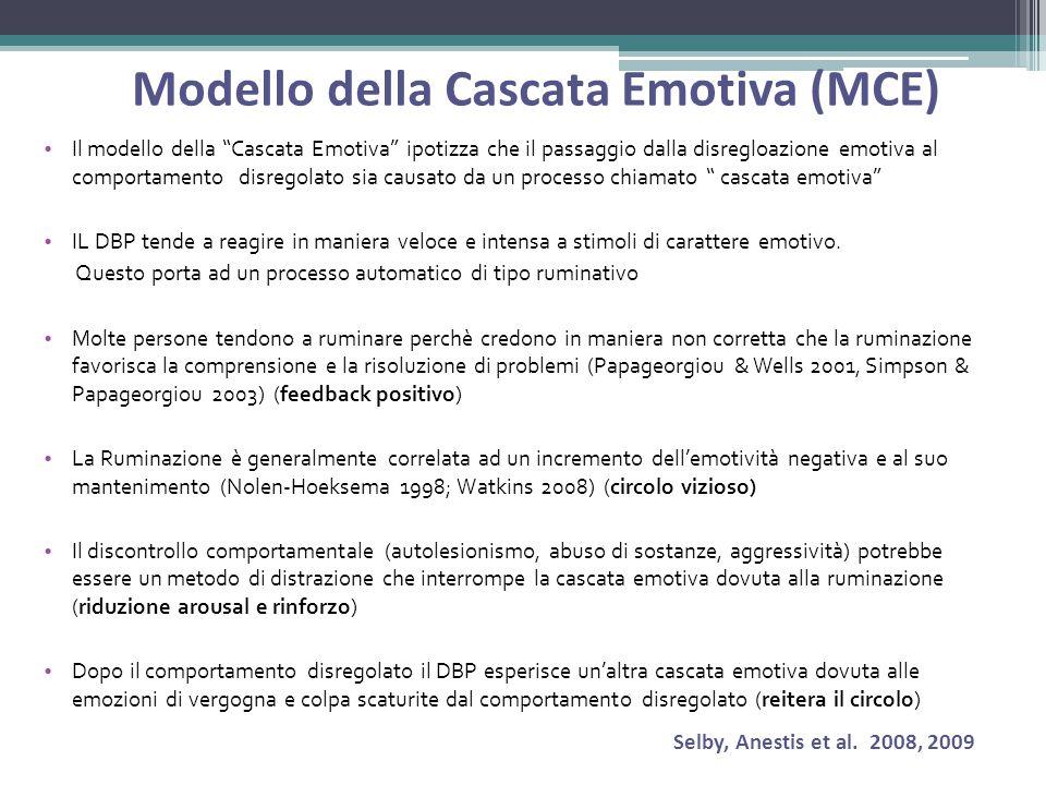 Modello della Cascata Emotiva (MCE)