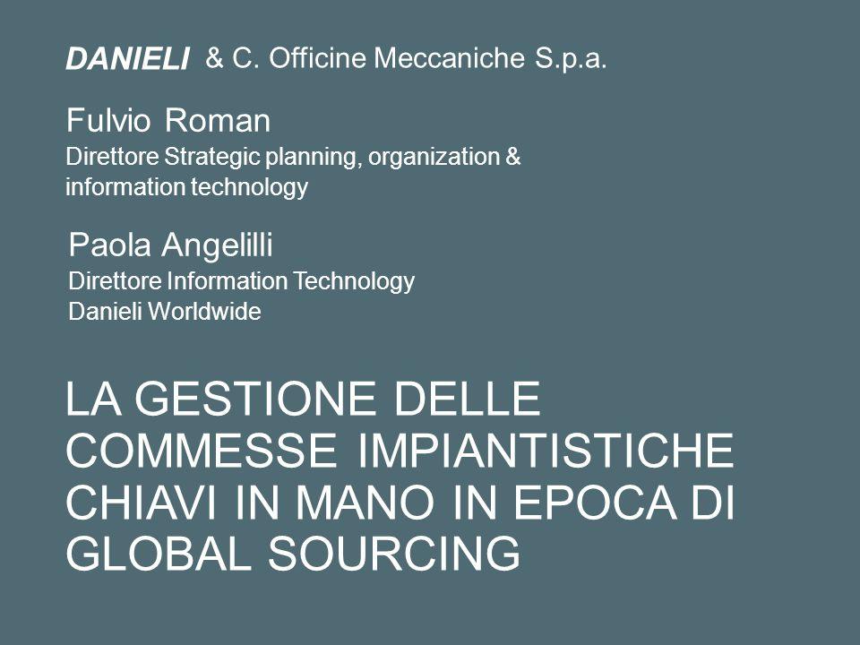 & C. Officine Meccaniche S.p.a.