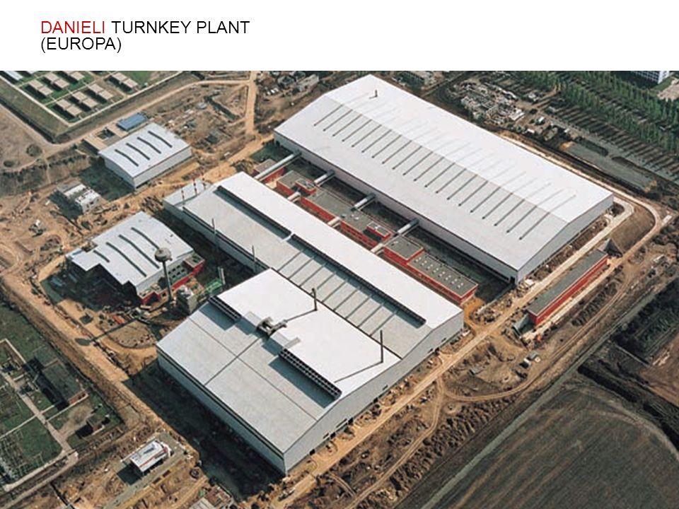 DANIELI TURNKEY PLANT (EUROPA)
