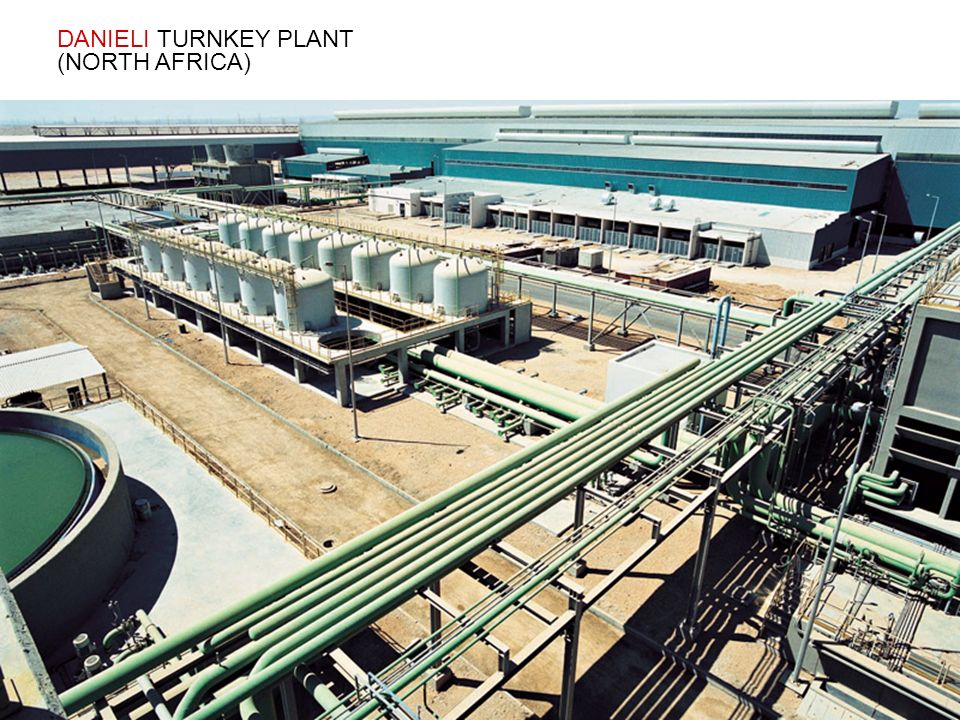 DANIELI TURNKEY PLANT (NORTH AFRICA)