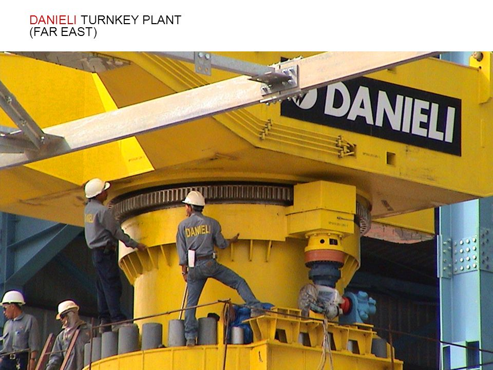 DANIELI TURNKEY PLANT (FAR EAST)