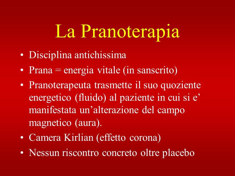 La Pranoterapia Disciplina antichissima