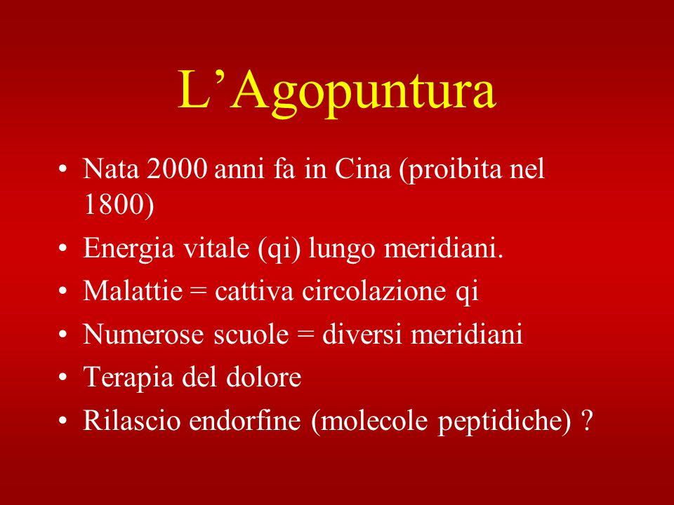 L'Agopuntura Nata 2000 anni fa in Cina (proibita nel 1800)